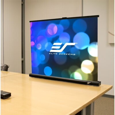 PicoScreen Series MaxWhite FG 55 Diagonal Portable Projection Screen