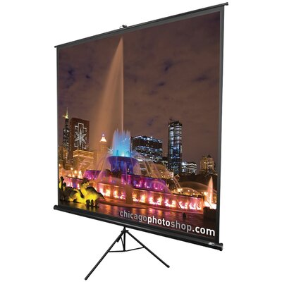 Tripod Series Portable Projection Screen Viewing Area: 96 H x 96 W
