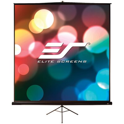 Tripod Pro Series Portable Projection Screen Viewing Area: 70 H x 70 W