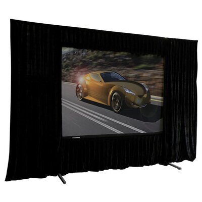 VMAX2 AcousticPro Black 84 diagonal Electric Projection Screen
