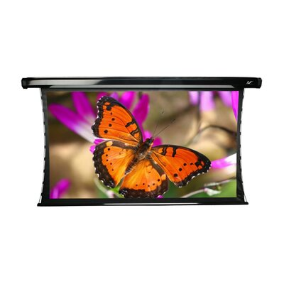CineTension2 Black Electric Projection Screen Size: 84 Diagonal, Additional Black Boarder: Yes
