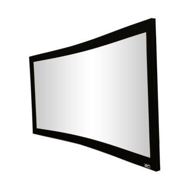 Lunette Series White Fixed Frame Projection Screen Viewing Area: 92 diagonal