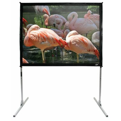 QuickStand Series White 150 diagonal Portable Projection Screen Viewing Area: 100 diagonal