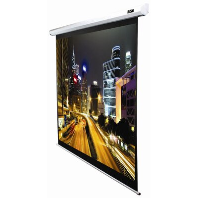 Spectrum Series MaxWhite Electric Projection Screen Viewing Area: 84 diagonal