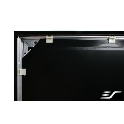 Sable Frame Black 100 diagonal Fixed Frame Projection Screen Viewing Area: 180 diagonal