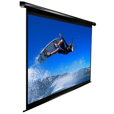 "Elite Screens VMAX2 AcousticPro Electric MaxWhite 106"" 16:10 Wide Projection Screen at Sears.com"