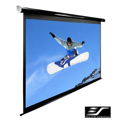 Spectrum Series MaxWhite Electric Projection Screen Viewing Area: 150 diagonal