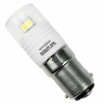 2.3W Bayonet LED Light Bulb,200 Lumens,3000k