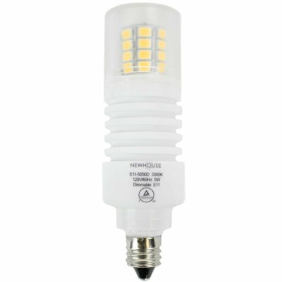LED Light Bulb Wattage: 5W