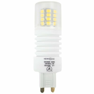 5W G9 LED Light Bulb 3000k Dimmable