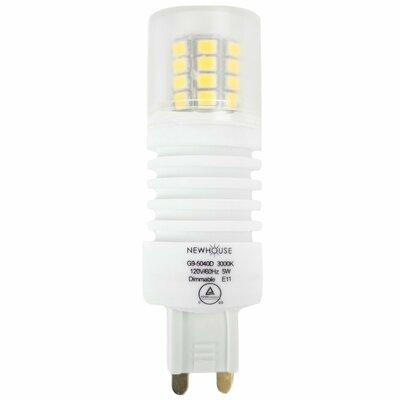 5W G9 LED Light Bulb 3000k Dimmable