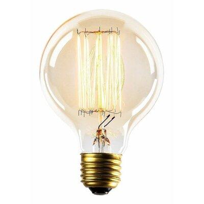 60W E26/Medium (Standard) Incandescent Vintage Filament Light Bulb G25INC-1