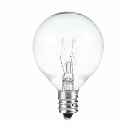 10W E12/Candelabra Incandescent Vintage Filament Light Bulb