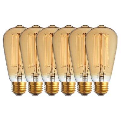 60 Watt A19 Incandescent, Light Bulb, Warm White (2700K) E26/Medium (Standard) Base