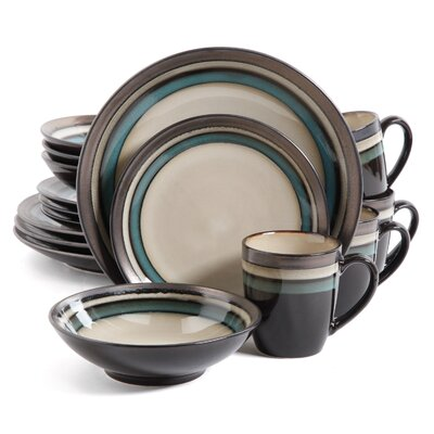 Lakemore 16 Piece Dinnerware Set, Service for 4 THPS4440 39560268