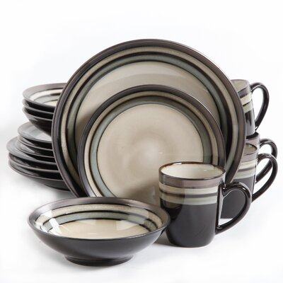 Lakemore 16 Piece Dinnerware Set, Service for 4 THPS4440 39560269