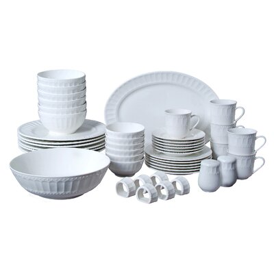 Regalia 46 Piece Dinnerware Set 61536.46RM