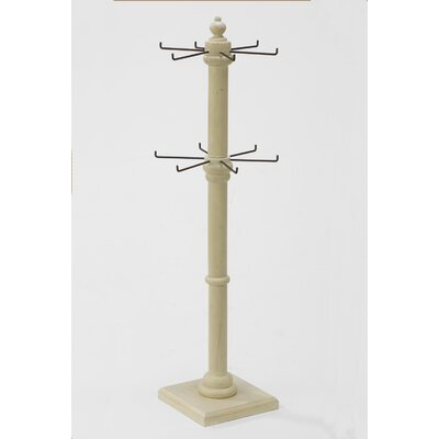 2-Tier Rotating Free Standing Jewelry Post