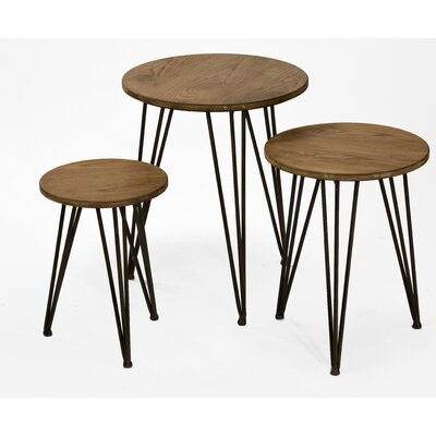 3 Piece End Table