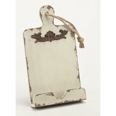 Shabby Tablet Stand Holder Accessory Finish: Cream
