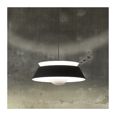 Undercliff 1-Light Hardwired Pendant Cord / Cable Finish: Black, Finish: Matte Black