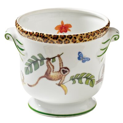 Monkey Magic Round Pot Planter MMC-6104