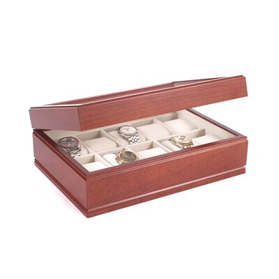 The Commander Watch Box Finish: Heritage Cherry