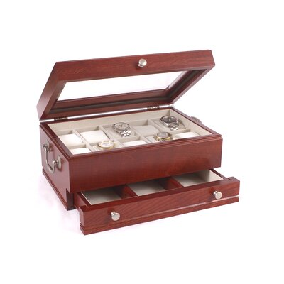 The Captain Watch Box Finish: Heritage Cherry