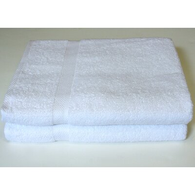 Deluxe Bath Sheet Color: White