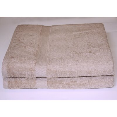 Deluxe Bath Sheet Color: Taupe