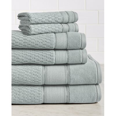 Degen Towel Set Color: Silver