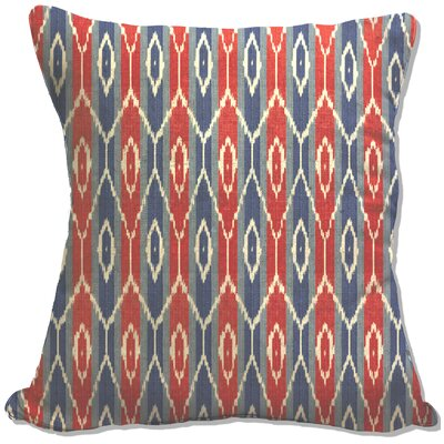 Zorcan Decorative Cotton Throw Pillow Color: Red