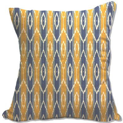 Zorcan Decorative Cotton Throw Pillow Color: Yellow