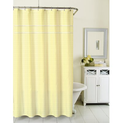 Sunny Day Cotton Shower Curtain Color: Yellow