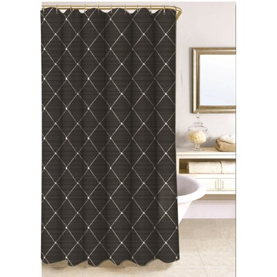 Wellington Shower Curtain Size: 78 H x 58 W