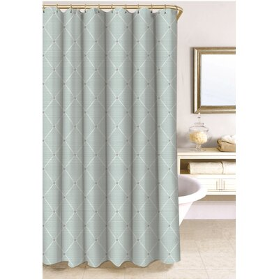 Wellington Shower Curtain Size: 78 H x 54 W