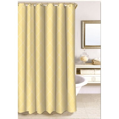 Wellington Shower Curtain Size: 96 H x 72 W