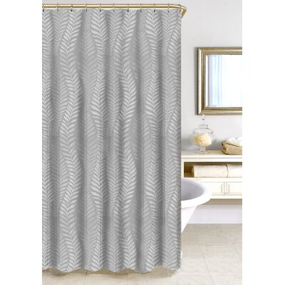 Fern Jacquard Shower Curtain