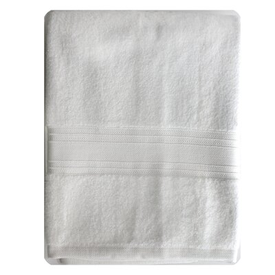Riviera Bath Towel Color: White