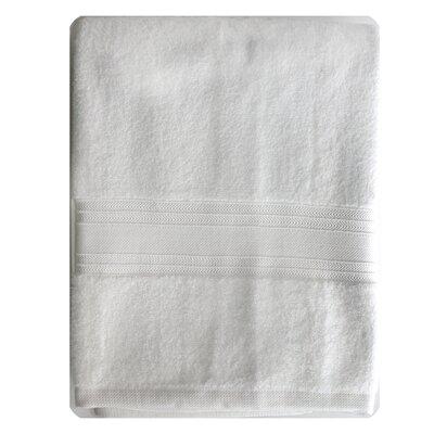 Riviera Bath Towel Color: White