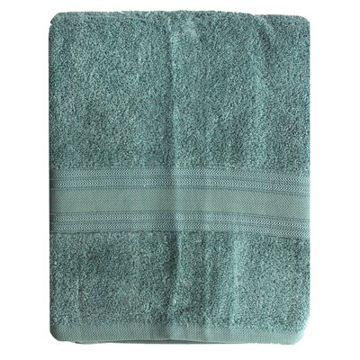 Riviera Bath Towel Color: Seafoam