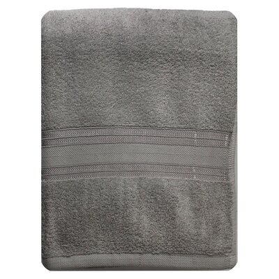 Riviera Bath Towel Color: Gray