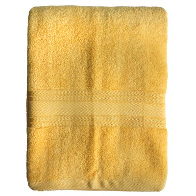 Riviera Bath Towel Color: Yellow