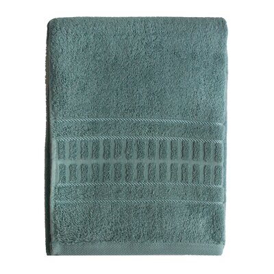 Berkshire Stripe Bath Towel Color: Seafoam