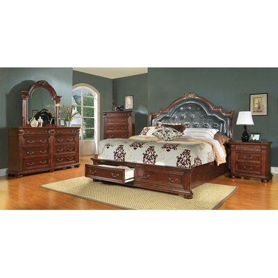 Goldsmith Platform Configurable Bedroom Set