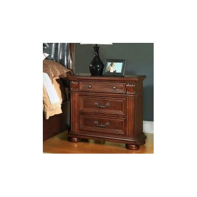 Goldsmith 3 Drawer�Nightstand
