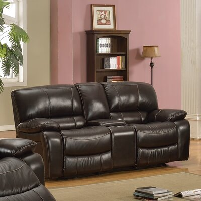 Kiowa Leather Recliner Reclining Loveseat