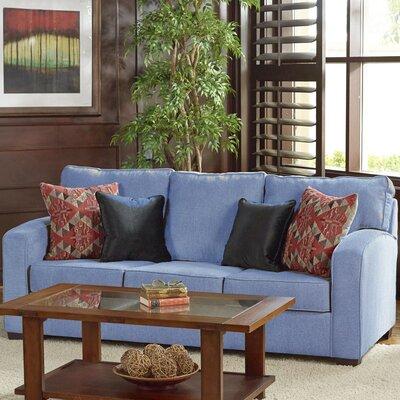 Zeus Sofa Upholstery: Blue