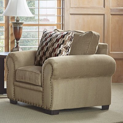 Achilles Arm Chair Upholstery: Tan