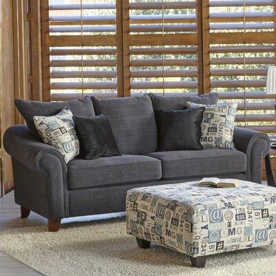 Slark Loveseat Upholstery: Charcoal